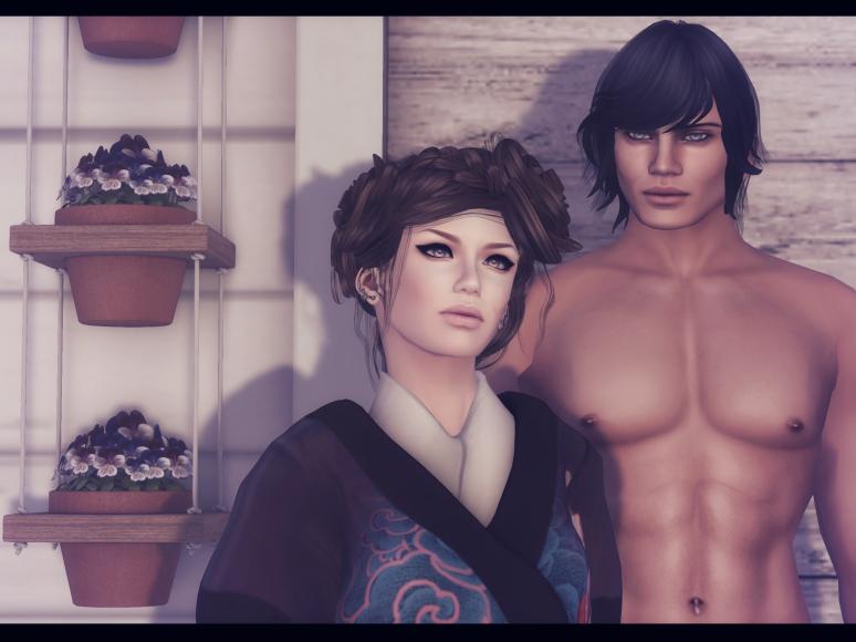 kimono exposeur poses close