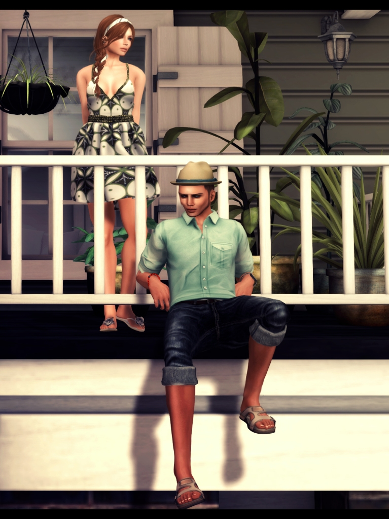 porch valentina del may poses 1